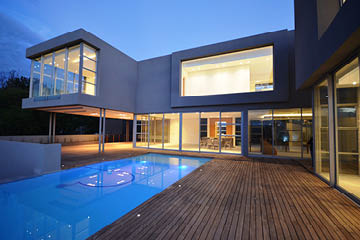 Residential construction in Sandton
